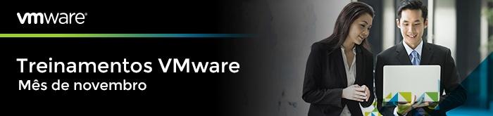 Treinamentos VMware mês de novembro