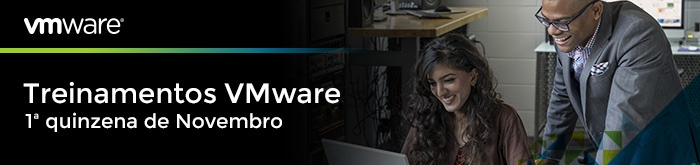Treinamentos VMware 1ª Quinzena de Novembro