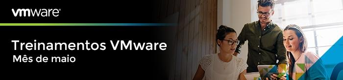 Treinamentos VMware de Maio