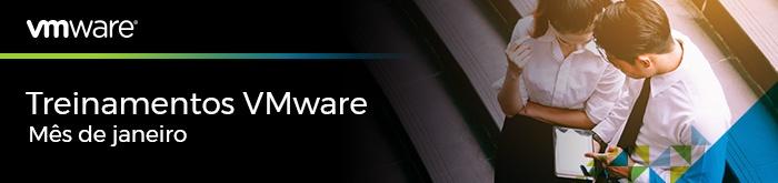 Treinamentos VMware de Janeiro de 2018