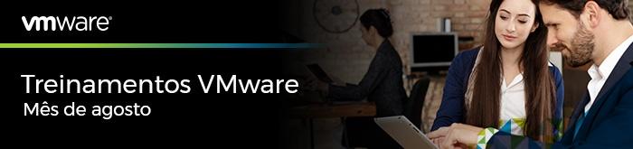 Treinamentos VMware de Agosto