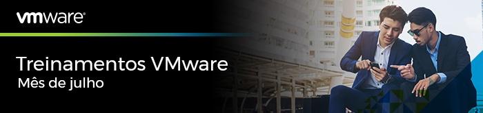 Treinamentos VMware de Julho