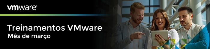 Treinamentos VMware de Março