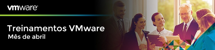 Treinamentos VMware Abril