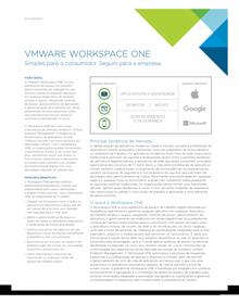 Modernize seus métodos de trabalho com o workspace one da VMware