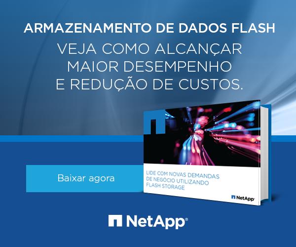 Maior desempenho e redução de custos com armazenamento Flash